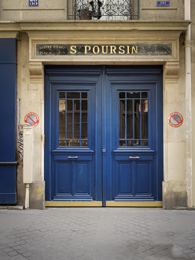 Maison Poursin à Paris