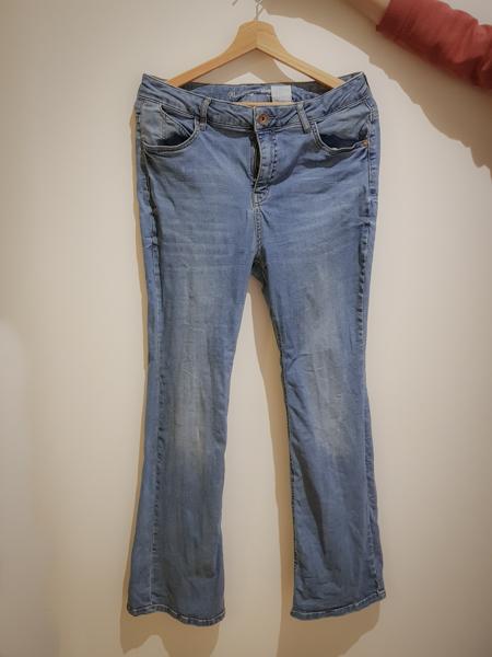 Recyclage d'un jean usé